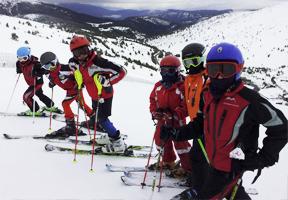 Cursos esqui madrid mejorar nivel